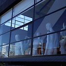 Reflections and Mannequins by waxyfrog