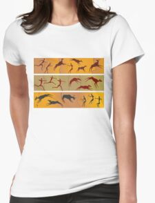 primitive people Womens Fitted T-Shirt