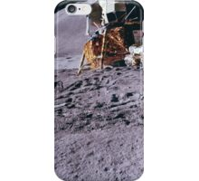 Apollo Archive 0087 Moon Pile of Equipment and Lunar Lander on Surface iPhone Case/Skin