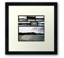 Diggers Beach 2 (Coffs Harbour NSW Australia) Framed Print