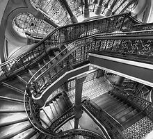 QVB - Which Way, Stair Way by Richard  Cubitt