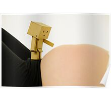 Danbo and my big tummy Poster