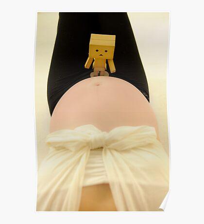 Danbo and my big tummy II Poster