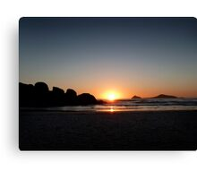 Whiskey Bay Sunset Canvas Print
