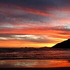 Ribbons in the sky at Norman Bay by ShineArt