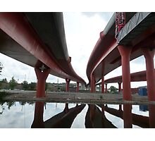 No Man´s Land - Under the Bridges Photographic Print