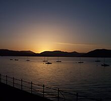 Stunning Gourock , Inverclyde sunset  scotland by shopinverclyde