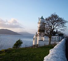 Cloch Lighthouse , By Gourock Inverclyde by shopinverclyde