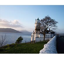 Cloch Lighthouse , By Gourock Inverclyde Photographic Print