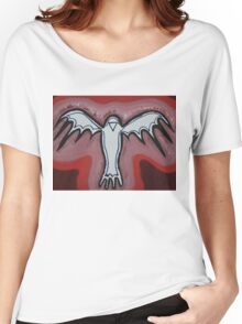 Spirit Crow original painting Women's Relaxed Fit T-Shirt