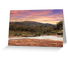 Mt Dale - Western Australia  Greeting Card