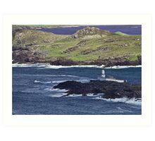 Valentia Lighthouse Art Print