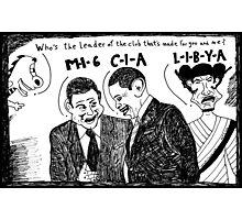 MI6 CIA LIBYA Photographic Print
