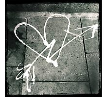 Pavement Love Photographic Print