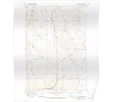 USGS Topo Map Oregon Ione North 280294 1968 24000 Poster