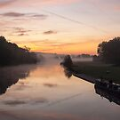 Thames at Pangbourne by Jim Hellier