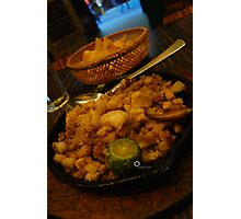 I know you want sisig Photographic Print