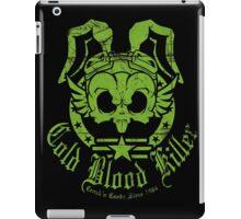 Cold Blood Killer distressed iPad Case/Skin