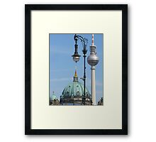 Typical Berlin Framed Print