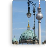 Typical Berlin Canvas Print