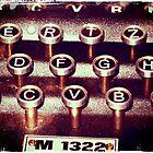 Enigma - Typewriter III by Sybille Sterk