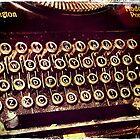 Enigma - Typewriter IV by Sybille Sterk