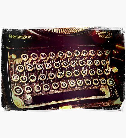Enigma - Typewriter IV Poster