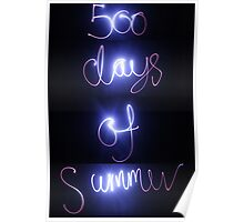 500 days of light photography  Poster