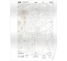 USGS Topo Map Oregon La Pine 20110715 TM Poster
