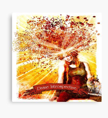 Divine Introspective Metal Print  Canvas Print