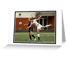 UIndy vs Old Dominican Womens Soccer 2 Greeting Card
