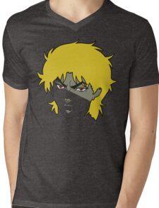 Stylized Dio Brando Mens V-Neck T-Shirt