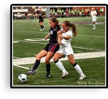 UIndy vs Old Dominican Womens Soccer 8 Canvas Print