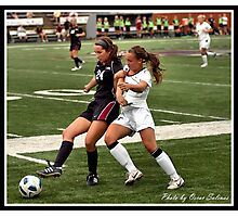 UIndy vs Old Dominican Womens Soccer 8 Photographic Print