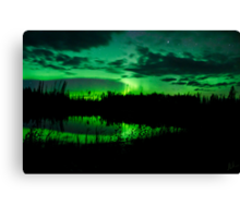 The Northern Lights Sept.3rd/11,Part 3 Canvas Print