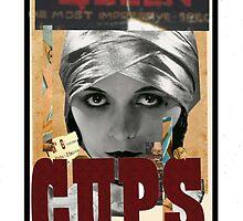 Dada Tarot-Queen of Cups by Peter Simpson