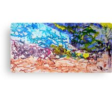 TOFFEE Canvas Print
