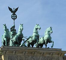 Brandenburg Gate Quadriga by orko