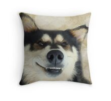 I'm such a goofy dog! Throw Pillow