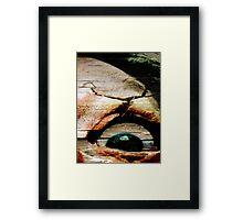 Feels Like I Gotta Lil' Sumthin' In My Eye! Framed Print