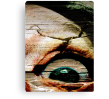 Feels Like I Gotta Lil' Sumthin' In My Eye! Canvas Print