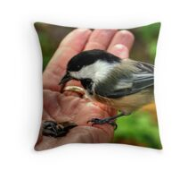 It's a Hand Out Throw Pillow