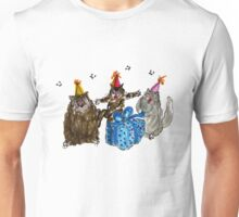 Birthday Cats Unisex T-Shirt