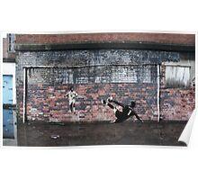 Liverpool FC - We Won It Five Times Graffiti Poster