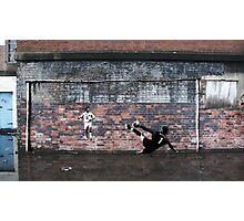 Liverpool FC - We Won It Five Times Graffiti Photographic Print