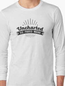 Uncharted (black) Long Sleeve T-Shirt