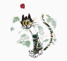Happy Cat by Suzy Woodall