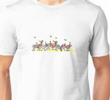 Singing Guinea Hens Unisex T-Shirt