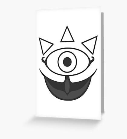 Gossip Stone - Zelda Greeting Card