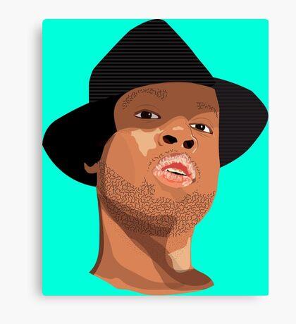 Hip Hop Illustration Canvas Print